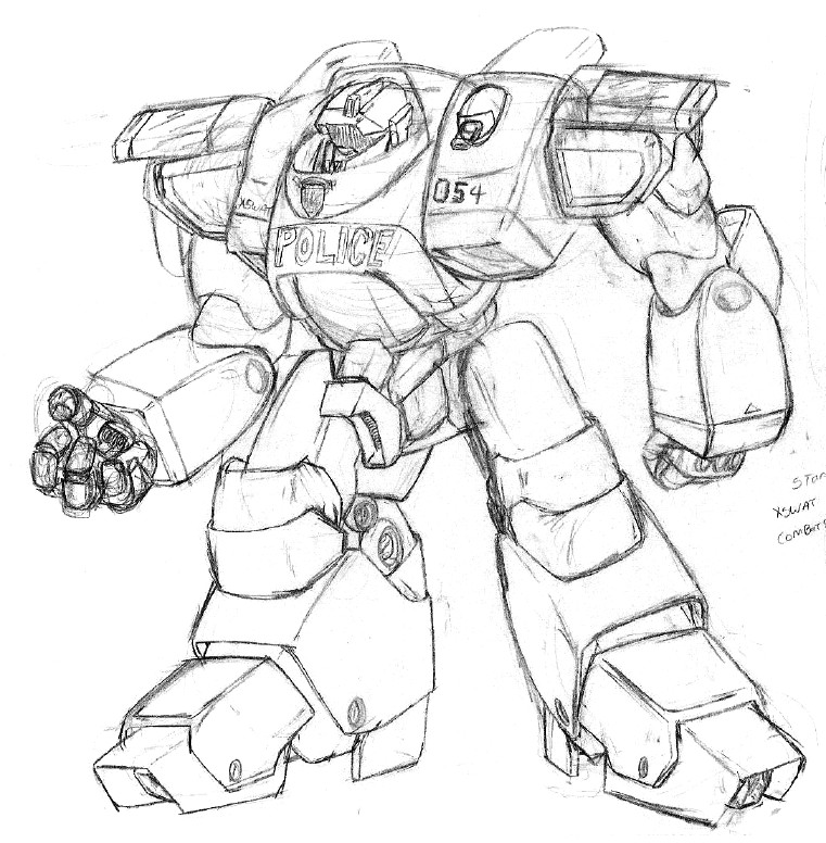 how to draw mecha book